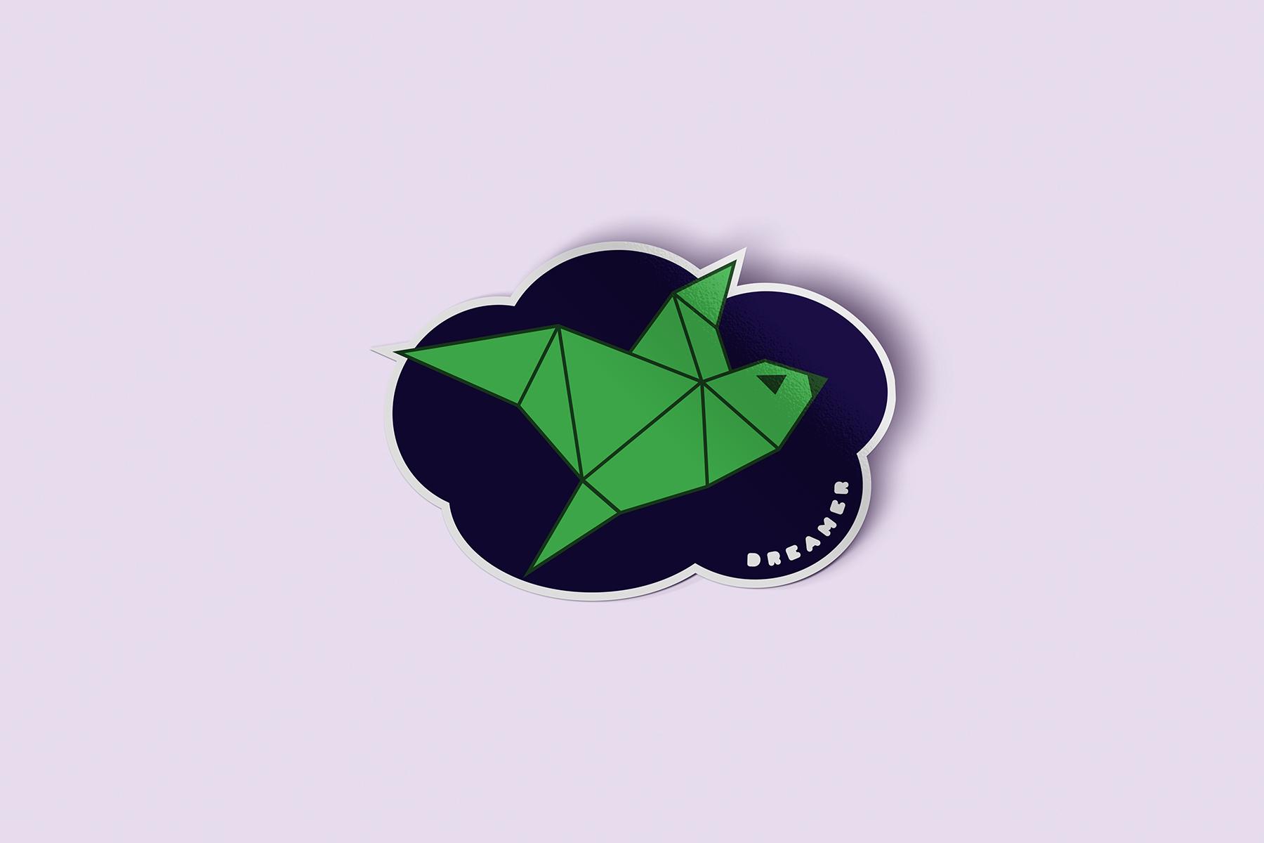 JALASTAIR Dreamer Sticker