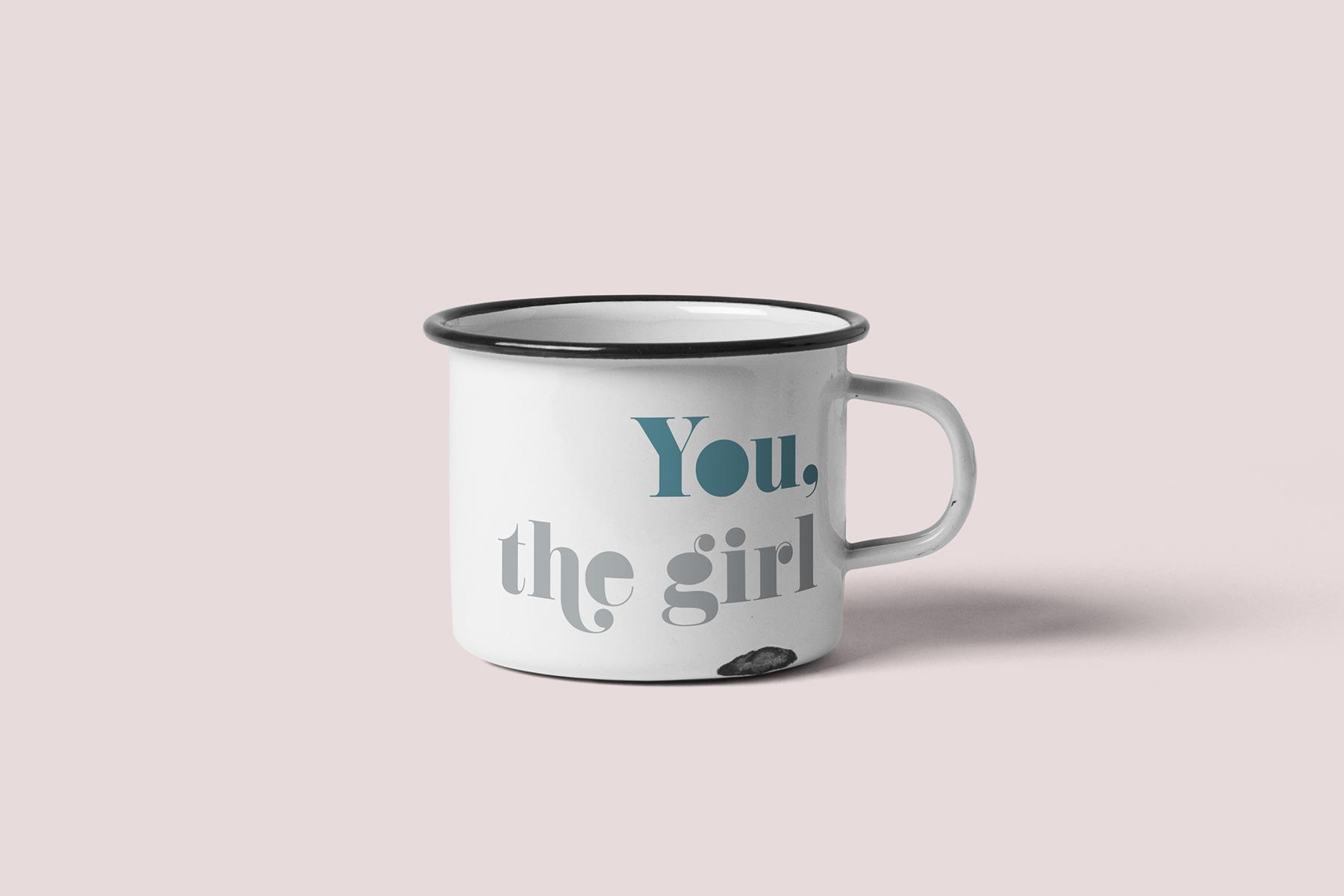 JALASTAIR You, the girl Mug