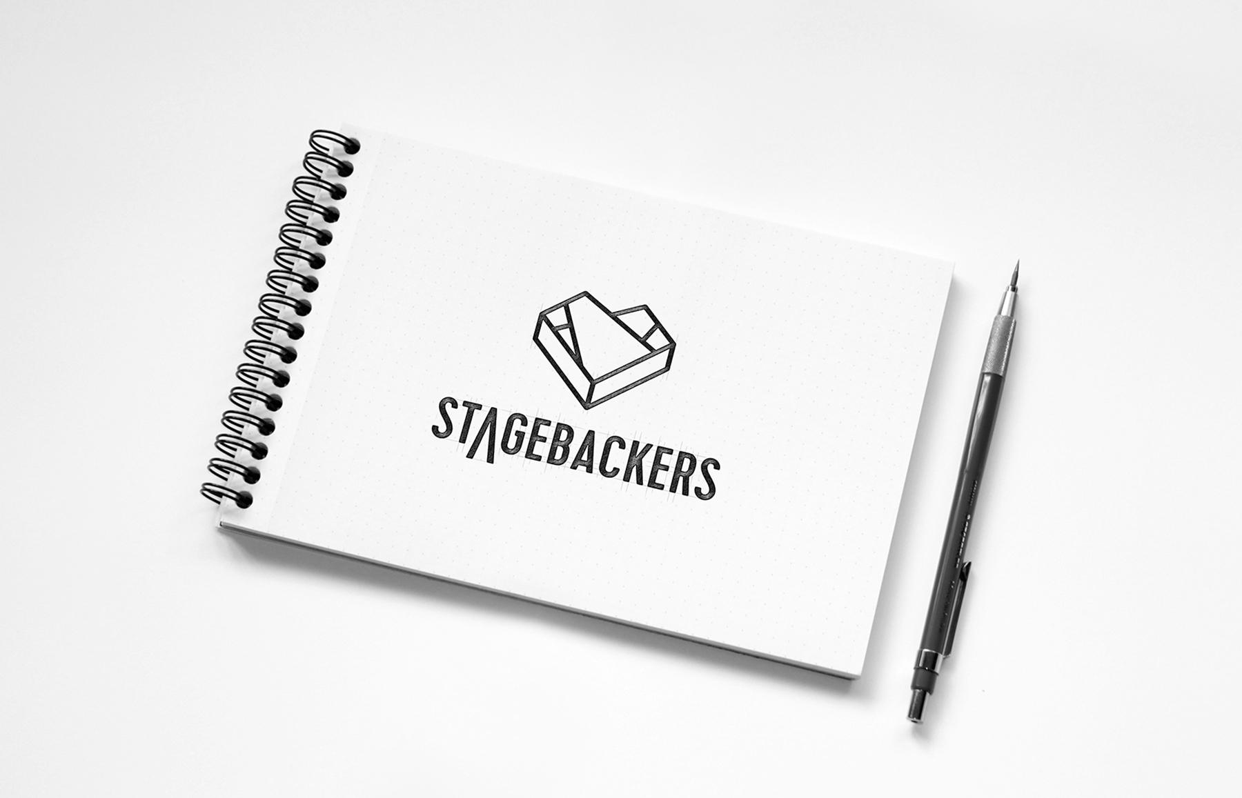 Stagebackers Main Mark Sketch