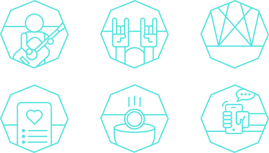 Stagebackers Icons